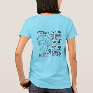 Camiseta T-shirt de David Hume (mulheres)