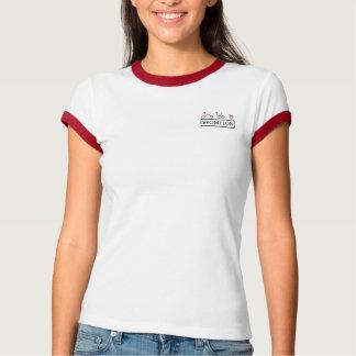 Camiseta T-shirt de dobramento da bicicleta do Brompton das