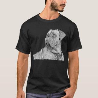 Camiseta T-shirt de Dogue de Bordéus