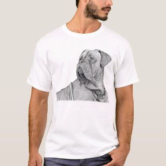 Camiseta T-shirt de Dogue de Bordéus