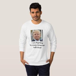 Camiseta t-shirt de Donald Trump o PRESIDENTE AMERICANO