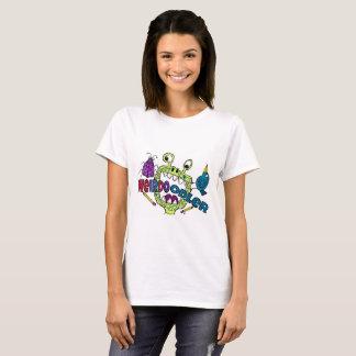 Camiseta T-shirt de Doodler do esquisito