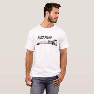 """Camiseta T-shirt de Dragster do Burrito do """"fast food"""""""