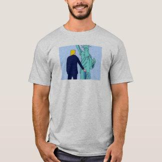Camiseta T-shirt de DreamySupply Donald Trump EUA