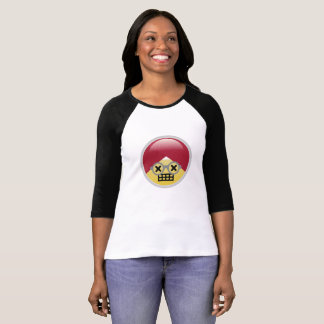 Camiseta T-shirt de Emoji do turbante do Dr. Social Meio