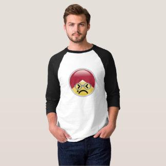 Camiseta T-shirt de Emoji do turbante do suor frio do Dr.