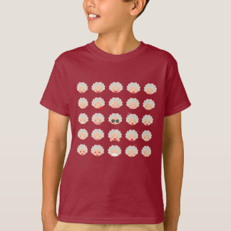 Camiseta T-shirt de Emojis de 25 avós