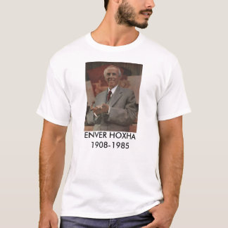 Camiseta T-shirt de Enver Hoxha