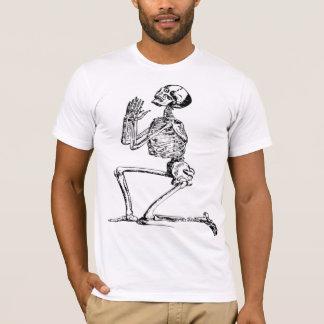 Camiseta T-SHIRT de esqueleto praying