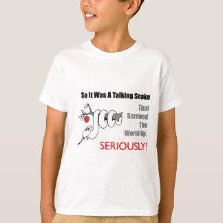 Camiseta t-shirt de fala do cobra