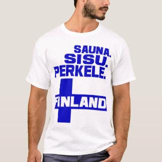 Camiseta T-shirt de Finlandia