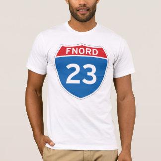 Camiseta T-shirt de Fnord 23 Discordian