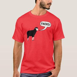 Camiseta T-shirt de Fnord Discordian das ovelhas negras