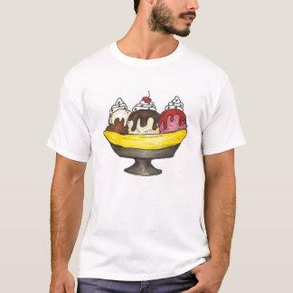 Camiseta T-shirt de Foodie da separação do Sundae do
