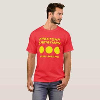 Camiseta T-shirt de Freetown Christiania Dinamarca