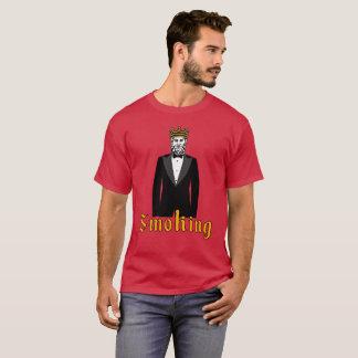 Camiseta T-shirt de fumo do smoking
