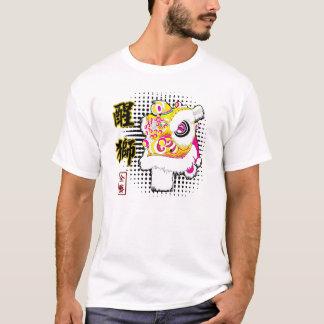 Camiseta T-shirt de Fut Hok da dança de leão