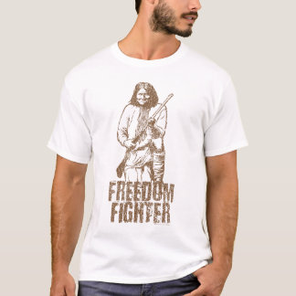 Camiseta T-shirt de Geronimo do lutador da liberdade