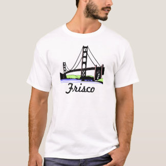Camiseta T-shirt de golden gate bridge Frisco