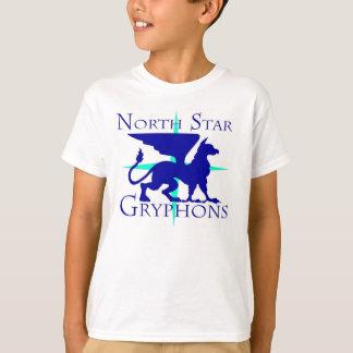 Camiseta T-shirt de Gryphons da estrela norte dos miúdos
