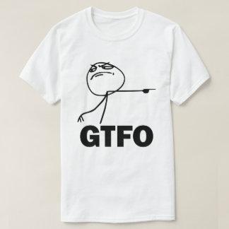 Camiseta T-shirt de GTFO Meme