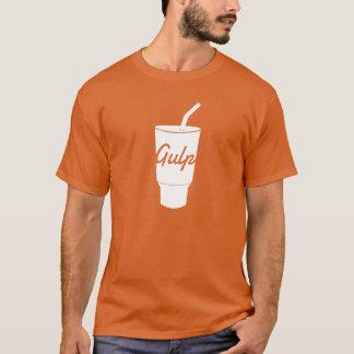 Camiseta T-shirt de GulpJS (vermelho)