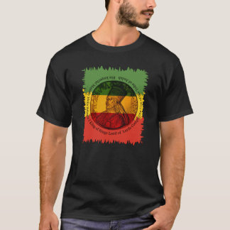 Camiseta T-shirt de Haile Selassie