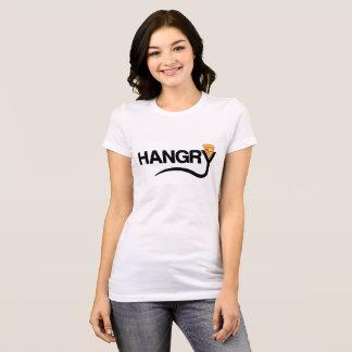 Camiseta T-shirt de Hangry da pizza dos desenhos animados