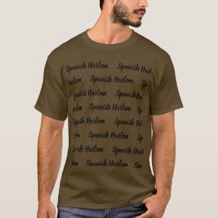 Camiseta T-shirt de Harlem do espanhol de Brown do exército a77dc90da67