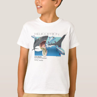 Camiseta T-shirt de Helicoprion