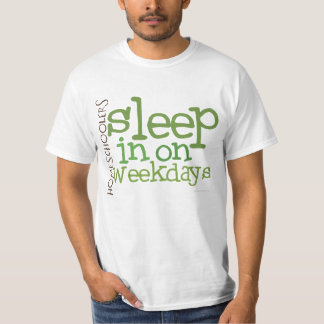 Camiseta T-shirt de Homeschool do VALOR: Sono dentro