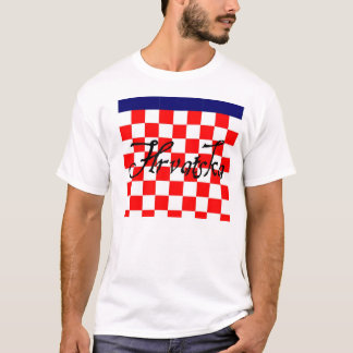 Camiseta T-shirt de Hrvatska