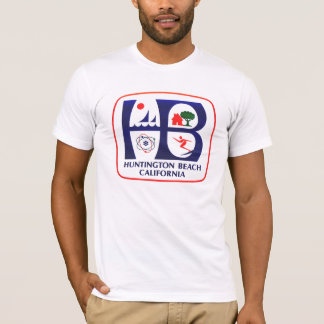 Camiseta T-shirt de Huntington Beach Califórnia