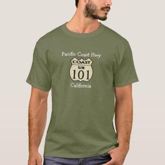 Camiseta T-shirt de Hwy- da Costa do Pacífico