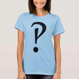 Camiseta T-shirt de Interrobang