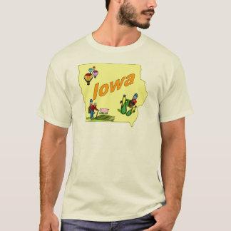 Camiseta T-shirt de Iowa