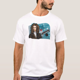 Camiseta T-shirt de Isaac Newton