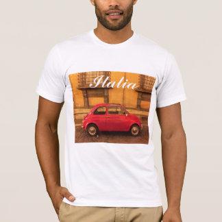 Camiseta T-shirt de Italia - vintage Fiat 500