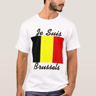 Camiseta T-shirt de Je Suis Bruxelas