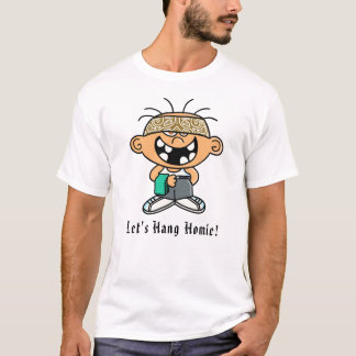"Camiseta T-shirt de Jimmy ""deixe-nos pendurar Homie"""