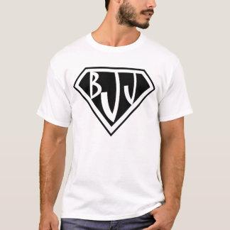 Camiseta T-shirt de Jiu Jitsu do brasileiro do logotipo de