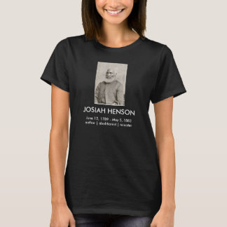 Camiseta T-shirt de Josiah Henson (escuro)