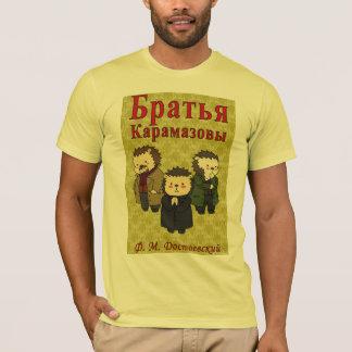 Camiseta T-shirt de Karamazov dos irmãos (família de