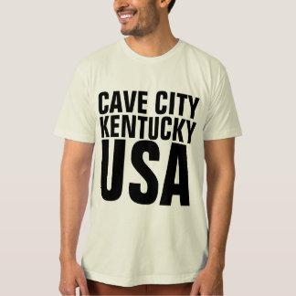 Camiseta T-shirt de KENTUCKY EUA da CIDADE da CAVERNA