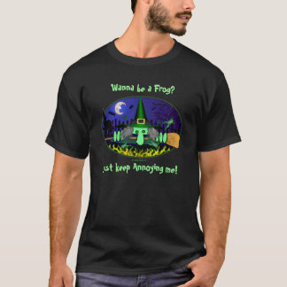 Camiseta T-shirt de Kilroy da bruxa