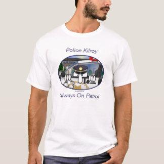 Camiseta T-shirt de Kilroy da polícia