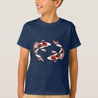 Camiseta T-shirt de Kohaku Koi das carpas