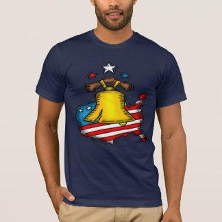 Camiseta T-shirt de Liberty Bell
