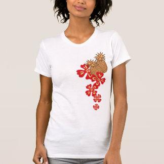 Camiseta T-shirt de Luau galão do abacaxi