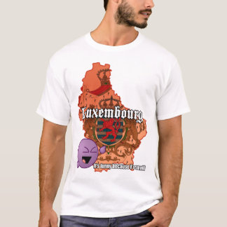 Camiseta t-shirt de Luxembourg do lol (luz)